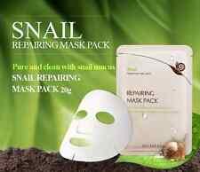 Korean Cosmetics Secret Key Snail+EGF Repairing Mask-Pack sheet 5 Pcs/US Seller