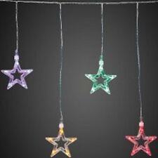 Collier étoile Multicolore LED Intérieur avec 10 Brûleurs HELLUM 576115 incl.