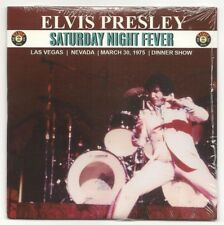 "ELVIS PRESLEY CD ""SATURDAY NIGHT FEVER"" 2018 RAGDOLL MARCH 30 1975 DINNER SHOW"