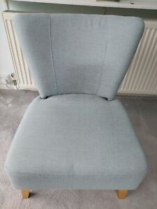 Duck Egg Blue Occasion Chair