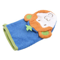 Children's Bath Wipe Baby Bath Exfoliating Shower Gloves Cartoon Bath Towel Q