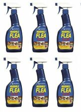 6 x Household Flea Killer Spray For Cat Dog Bed Carpet Soft Furniture 500ml New