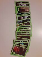 2019 Topps Star Wars Journey Rise of Skywalker GREEN PARALLEL Cards LOT of 19