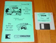 Amiga Consultron CROSS DOS v 5.0 Manual & Software MS-DOS File System & CROSS PC
