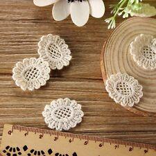 Flower Applique Daisy Trim Patch Crochet Handicrafts Dress Sewing Embellishment