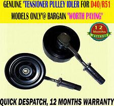 TENSIONER PULLEY ASSEMBLY IDLER FITS NAVARA PICK UP D40 2.5 PATHFINDER R51 05>