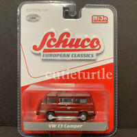Schuco Volkswagen T3 Camper Van 1:64 Limited Edition 2400 Pieces Red 9200
