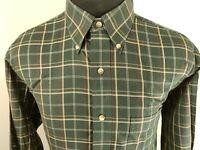 Jos A Bank Mens Long Sleeve Button Down Shirt Size sz M Medium Green