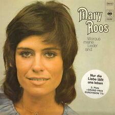 """12"""" LP Mary Roos Che cosa fa significa Canzoni sono e Mondo,Lied di pioggia NM"""