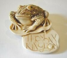 Harmony Kingdom 1997 Toad Frog Pin Toad Pin Royal Watch Club No Box