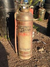 ANTIQUE 1920's  HAND FIRE EXTINGUISHER (farmers mutual)