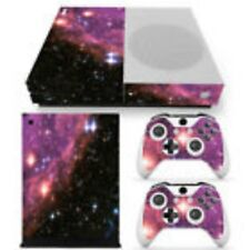 Galaxy Space Vinyl Decal Cover Skin Stickers Xbox One Console Controllers #414