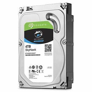 Interne Festplatte HDD 4TB Seagate SkyHawk ST4000VX007 5900rpm 64MB SATA 600