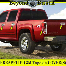 2004-2012 CHEVY COLORADO/CANYON Chrome Door Handle Covers+Tailgate+TaiLightBezel