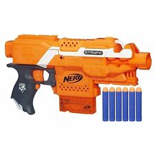 Brand New NERF N-Strike Elite STRYFE Dart BLASTER Orange