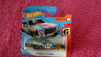 Hot Wheels - UK Card - #--- '70 Chevelle SS Wagon - Blue