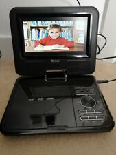 """Tevion 7"""" Portable Dvd Player With Swivel Screen & Carry Case"""