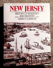 RARE 1987 NEW JERSEY NJ HISTORY OF INGENUITY & INDUSTRY (HUNDREDS OF PICTURES)