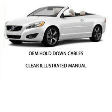 VOLVO C70 COVERTIBLE TOP INSTALLATION PACKAGE 1998-06. VOLVO C70 CONVERTIBLE