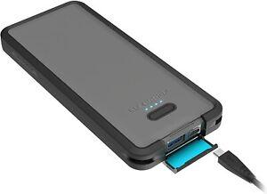 LifeProof LIFEACTIV Power Pack 10 Qi Wireless, 10,000mAh - Black NEW