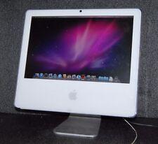 """Apple iMac A1208 17"""" MA590LL 2006 Model Intel CD 1.83GHz, 2GB, 160GB, OS 10.6"""