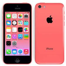 Teléfonos móviles libres rosa Apple iPhone 5c con 8 GB de almacenaje
