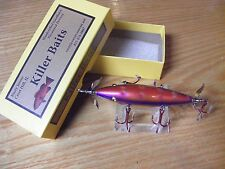 Killer Baits Rusty Jessee Heddon Little Sac Style Glasseye 150 Magenta Pearl Spo