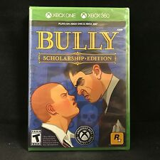 Bully: Scholarship Edition (Xbox 360 / Xbox One Compatible) BRAND NEW