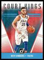 2018-19 DONRUSS COURT KINGS BEN SIMMONS PHILADELPHIA 76ERS #2