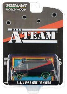"Chase 1983 GMC VANDURA (B.A.'S) DIRTY VER. ""THE A-TEAM"" 1/64 GREENLIGHT 44865 F"
