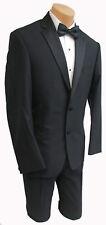New Mens Black Joseph Abboud Maybach Tuxedo Jacket Comfortable 130s Wool 38R