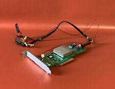 Dell Perc H310 Raid Card PCI-Express Dual Mini SAS/SATA Card with cables