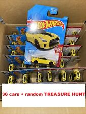 2021 Hot Wheels '17 Nissan GT-R (R35) Lot Of 36 + RANDOM TREASURE HUNT