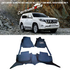 Left Hand Drive! Car Floor Mat Pad 1set For Toyota Prado Fj150 5Seats 2014-2016