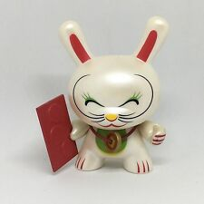 "Kidrobot x Shane Jessup: Dunny Series 4 - Fortune Cat 3"" Vinyl Chase Figure"