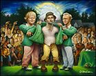 The Green Jacket. A Tribute to Carl Spackler and 1980 Fine Art Offset Print 2...