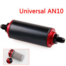 Universal AN10 100 Micron Aluminum Car High Flow Fuel Inline Petrol Filter
