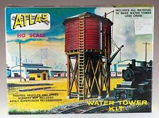 Vintage Atlas Water Tower Kit #703 HO Scale New In Box
