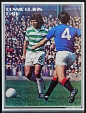 FOOTBALL PLAYER PICTURE RONNIE GLAVIN CELTIC SHOOT