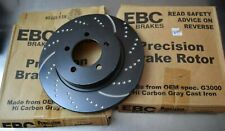 For Ford Explorer 02-05 Brake Rotors EBC 3GD Series Sport Dimpled & Slotted PAIR