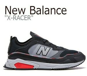 New Balance X-Racer MSXRCHTW Black/Red Men's Running Lifestyle Shoes Size 11.5