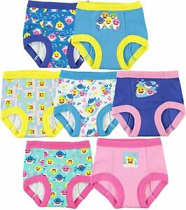 TEN28 by Handcraft Girls' Toddler Baby Shark Potty Training Pants