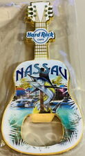 Hard Rock Cafe NASSAU 2018 GUITAR MAGNET Bottle Opener with City ICONS V18 New!