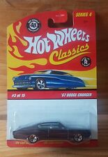 Hot Wheels 2008 Classics Series 4 #3 of 15 '67 DODGE CHARGER Purple/Grey? (A+/A)