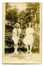 Antique RPPC Postcard Photo Young Girls Lottye Smith Tifany Bohanon