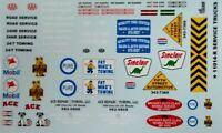 GOFER RACING 1/24-1/25 SERVICE TRUCK LOGOS | 11014