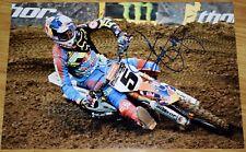 "RYAN DUNGEY #1 Signed 12x18"" Fox KTM Photo #10 - 4x SX Champion MX"
