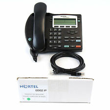 Nortel i2002 IP Desktop Phone Charcoal NTDU91 PoE - 1 Yr Warranty - Refurb - LOT