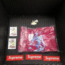Supreme Daniel Johnston Sweatshirt Hoodie Fuchsia SIZE LARGE- BRAND NEW W Tags