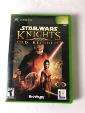 Star Wars Knights of The Old Republic - Xbox Black Label Video Game CIB Complete